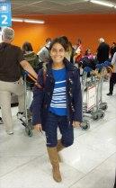 En el aeropuerto :)