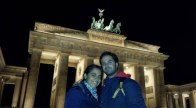 Brandenburgo de noche