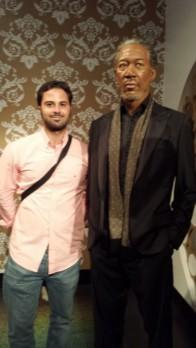 Con el Sr. Freeman!!!