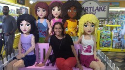 Con las LEGO Friends